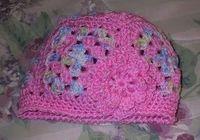 Granny Square hat