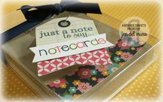 Reverse Confetti | Lots to Say, Lighthearted Letters [Note Cards, Just Because, Gift Idea] Paper Craft Making, Hand Stamped Cards, Note Cards, Confetti, Paper Crafts, Notes, Letters, Gifts, Report Cards