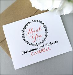 7 Best Custom Thank You Cards Images Custom Thank You Cards Your