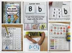 ABC Interactive Alphabet Notebook
