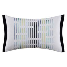 Chic Stripe by Christian Siriano 12 x 18 Embroidered Pillow - CF1217DP1-1400