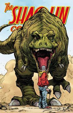 Shaolin Cowboy #1 (Walter Simonson variant cover) :: Profile :: Dark Horse Comics