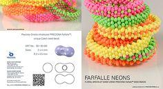 Files & Links              Project-Floral-bracelet-made-using-PRECIOSA-Farfalle-seed-beads.pdf   (901 KB) PRECIOSA Farfalle™ Farfalle Sample...