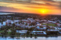 University of Tampa Sunset, Tampa, Florida