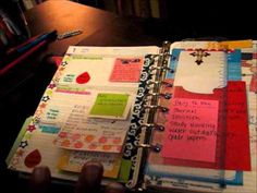 My 1st video....Faux Filofax/Franklin Covey planner---part 1!!! - YouTube