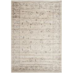 You'll love the Rindge Light Grey/Ivory Floral Area Rug at Wayfair - Great Deals on all Décor  products with Free Shipping on most stuff, even the big stuff.