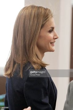 Queen Letizia of Spain attends a meeting with the Spanish Red Cross in Madrid on April 7, 2015 in Madrid, Spain.