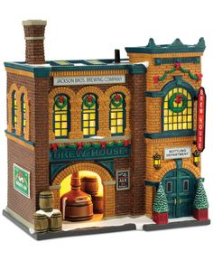 Department 56 Christmas in the City Brew House Collectible Figurine