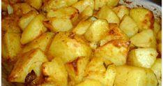Greek Recipes, Vegan Recipes, Cookbook Recipes, Cooking Recipes, Low Sodium Recipes, Greek Dishes, Potato Dishes, Tasty Dishes, Soul Food