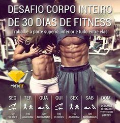 Desafio de fitness 30 dias