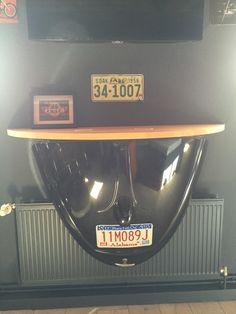 Fresh Wandtisch aus VW K fer Motorhaube wall table from VW beetle engine hood