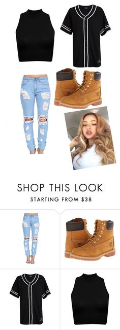 """""""Untitled #42"""" by jasmine-o28 ❤ liked on Polyvore featuring Timberland and Stampd"""
