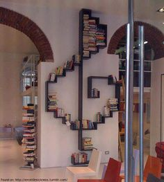 30 Incredible Bookshelves You'll Want in Your Home                                                                                                                                                     More