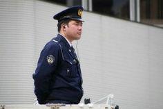 DJポリス 東京マラソン大会2014 銀座三越前
