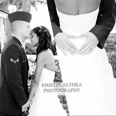 Love the heart idea so sweet! :) #heart#wedding#photography#love#airforce  Www.facebook.com/kristinaltheaphotography