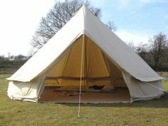 canvas bell tents