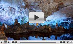 Guilin Reed Flute Cave, Lu Di Yan, Ling Canal, Guangxi