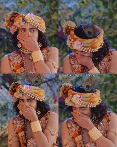 Radha Krishna Love Quotes, Cute Krishna, Radha Krishna Pictures, Radha Krishna Photo, Krishna Photos, Krishna Art, Radhe Krishna, Lord Krishna Wallpapers, Radha Krishna Wallpaper