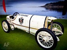 1909 Blitzen-Benz at the 2011 Pebble Beach Concours d'Elegance.    Photo: Royce Rumsey
