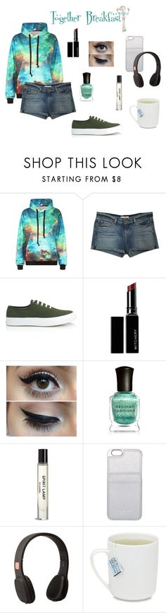 """""""Steven Universe Episode 4: Together Breakfast"""" by mystic-moonstone ❤ liked on Polyvore featuring J Brand, Maison Kitsuné, Witchery, Deborah Lippmann, MICHAEL Michael Kors and Outdoor Tech"""