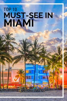 Need help for your next Miami vacation? Discover top 10 best things to do in Miami! Check out these amazing things to see and do in Miami including the beaches, Miami Beach, Little Havana and more. Visit Florida, Florida Usa, Florida Travel, Travel Usa, Miami Florida Vacation, Florida Holiday, Beach Travel, Dream Vacations, Vacation Spots