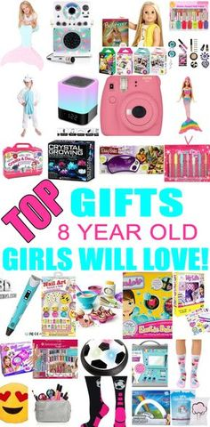 Best christmas gifts for girls 8 years old