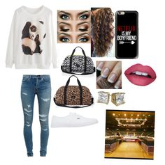 """""""Keira arriving to the arena with terra"""" by wannabebriebella ❤ liked on Polyvore featuring Yves Saint Laurent, Casetify, OPI and Vans"""