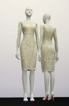 Rusty Nail: Dress inspired by Elie Saab • Sims 4 Downloads
