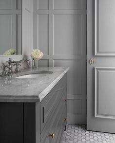 Mono(tone) #grey #powderbath #marble