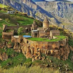 he Tatev Monastery on the edge of gorge of Vorotan River in Armenia. It`s  a functional Monastery since 9th century and it never closes. The best and scenic way to get there is a cable car. You`ll enjoy the villages, rivers and landscape while you get to the peaceful gem of Armenia –Tatev Monastery.