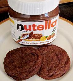 Galletas de Nutella en Recetas de galletas de como preparar, cocinar y hornear