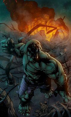#Hulk #Fan #Art. (HULK Color) By: ZethKeeper. (THE * 3 * STÅR * ÅWARD OF: AW YEAH, IT'S MAJOR ÅWESOMENESS!!!™)[THANK Ü 4 PINNING!!!<·><]<©>ÅÅÅ+(OB4E)