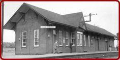 MASSON, Québec - CPR station-gare