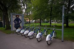 Oslo City Bikes - Tourists rent from Tourist office, only 2 bikes on same credit card.