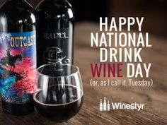 Happy National Drink Wine Day! (Or, as I call it, Tuesday.) What's your wine drinking style?
