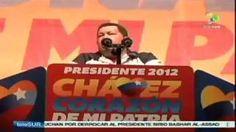Chávez denuncia planes desestabilizadores