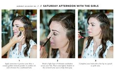 7 Ways to Apply Makeup for Every Summer Occassion // Saturday Afternoon with the Girls // makeup by Natalie Laine // hair by Lindsey Kidd // photography by Awake Photography