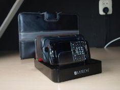 Satechi 7台同時 7ポートUSB 充電ステーション (iPhone 6 Plus/6/5S/5C/5/4S, iPad Air/Mini/3/2/1, Samsung Galaxy S6 Edge/S6/S5/S4/S3/Note/Note2/Tab, Sharp Aquos Zeta/Serie, Fujitsu Arrows NX, iPod, Nexus, HTCなど対応) (黒)
