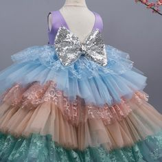 ARABELLA Unicorn Dress, Unicorn Party, Blush Dresses, Flower Girl Dresses, Wedding Dresses, Gold Dress, Purple Dress, Baby First Birthday Dress, Cherry Blossom Dress
