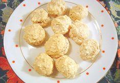 Ořechové pusinky Krispie Treats, Rice Krispies, Cereal, Muffin, Cookies, Breakfast, Food, Crack Crackers, Morning Coffee