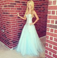 Payton Rae in ALYCE Paris 2013 prom dress style #6029