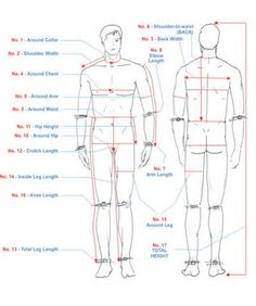 body measurement chart - Yahoo Image Search Results