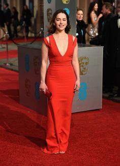 Emilia Clarke aux BAFTAs 2016