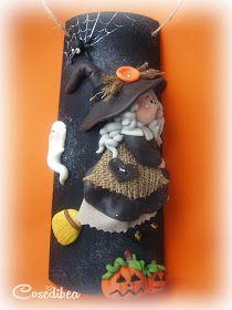 cosedibea: Felice Halloween Roof Tiles, Pumpkin Decorating, Cold Porcelain, Gum Paste, Rapunzel, Polymer Clay, Christmas Ornaments, Holiday Decor, Handmade