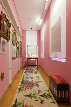 Location: Musée Cognacq-Jay, France. Carpet design by Mr. Christian Lacroix in collaboration with ege carpets. #design #customdesign