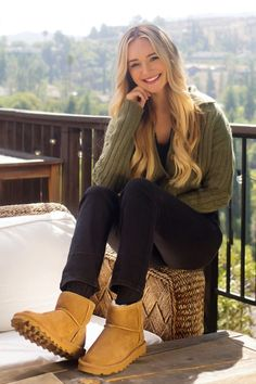 Stylish suede boots by BEARPAW