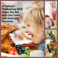 20 Awkward Thanksgiving Stock Photos that Will Make Your Family Look Downright Functional