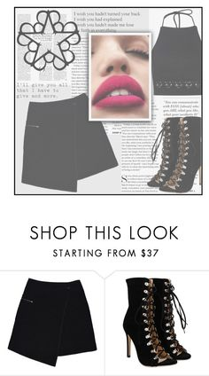 """""""BVB"""" by janemorguedoe ❤ liked on Polyvore featuring MARC CAIN and Boohoo"""