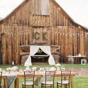 rustic wedding... i really love this....