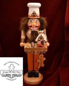 Ginger Cottages Gingerbread Man Nutcracker NUT102 * Check out this great product.